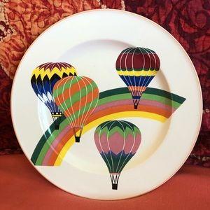 Mikasa decorative hot air balloon plate